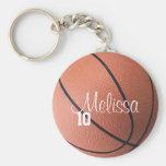 Personalised Basketball Keychain
