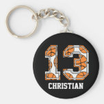 Personalised Basketball Number 13
