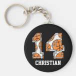 Personalised Basketball Number 14