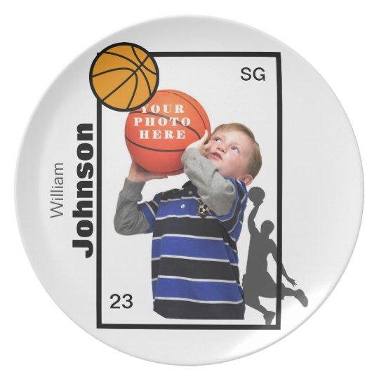 Personalised Basketball Plate