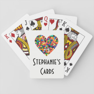 Personalised Bead Lover Playing Cards