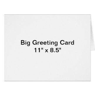 Personalised Big Greeting Card