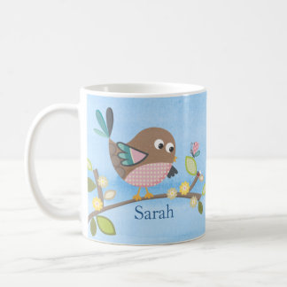 Personalised Bird Mug