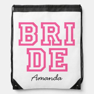 Personalised BRIDE bag Backpacks