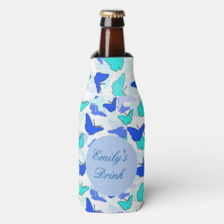 Personalised Butterfly Can or Bottle Cooler