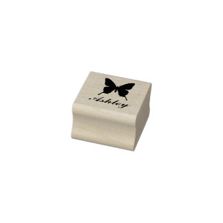 Personalised Butterfly Stamp with Name