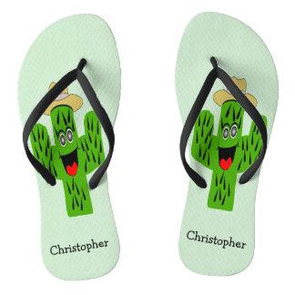 Personalised Cactus Design Thongs