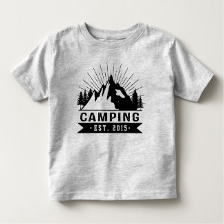 Personalised Camping Toddler T-Shirt