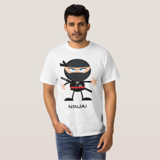 Personalised Cartoon Ninja T-Shirt