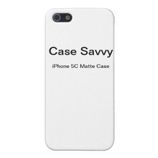 Personalised Case-Savvy iPhone 5C Matte Case
