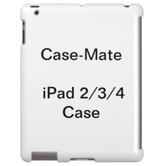 Personalised CaseMate iPad 2, 3, & 4 Case