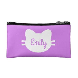 Personalised Cat Cosmetic Bag