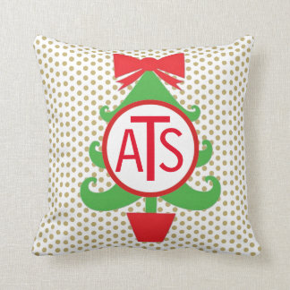 Personalised Christmas Tree Pillow
