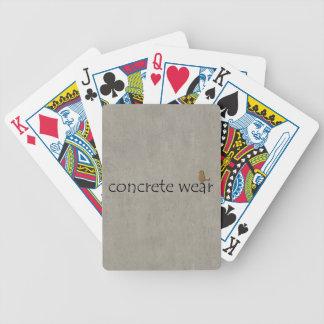 Personalised Cool Concrete Wear Urban Bird Card Decks