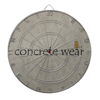 Personalised Cool Concrete Wear Urban Bird Dartboards