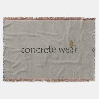 Personalised Cool Urban Concrete Wear  Blanket