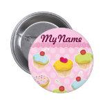 Personalised Cupcakes Pins