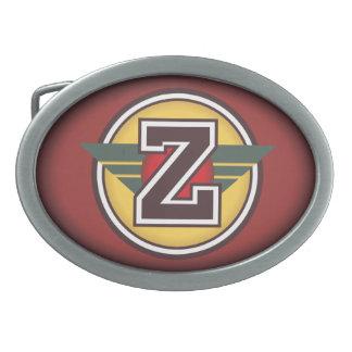 Personalised Custom Initial Z Belt Buckles
