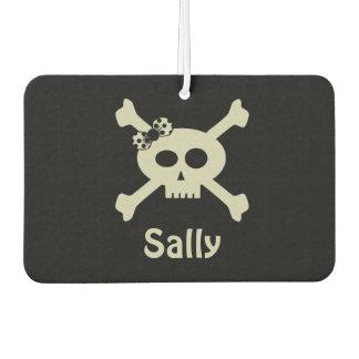 Personalised Cute Pirate Flag Air Freshener