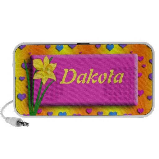 Personalised Daffodil Doodle Speaker