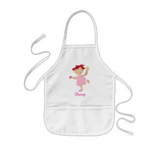 Personalised Daisy Cupcake Wand Kids Kids Apron