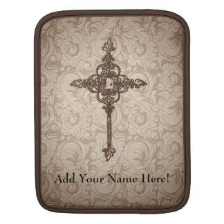 Personalised Decorative Cross Tablet Sleeve iPad Sleeve