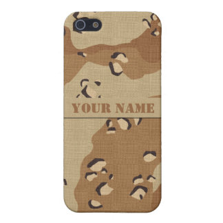 Personalised Desert Camouflage iPhone 5C Case