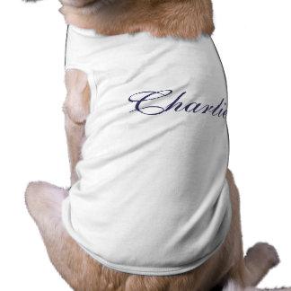 Personalised dogs name pet dog clothing t-shirt