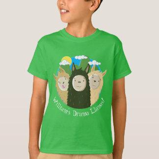 Personalised Drama Llamas T-Shirt