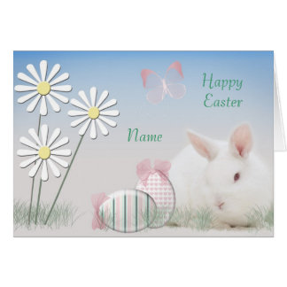 Personalised Easter Card