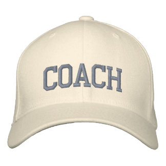 Personalised & Embroidered Coach Cap | Hat Embroidered Hats
