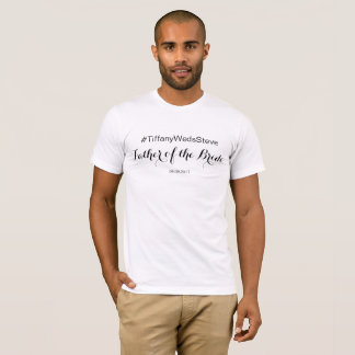 Personalised Father of the Bride T-shirt from Set