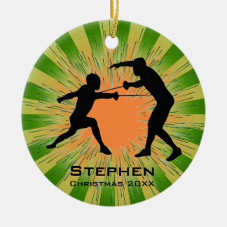 Personalised Fencing Ornament