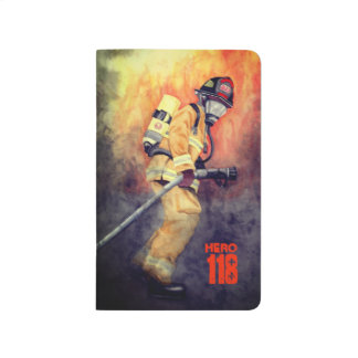 Personalised Firefighter Pocket Journal