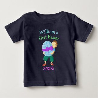 Personalised First Easter Baby T-Shirt