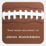 Personalised Football Bookplate Sticker