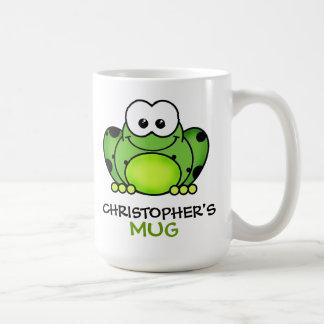 Personalised Frog Mug