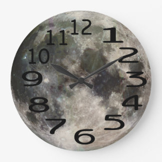 Personalised Full Moon Wall Clock
