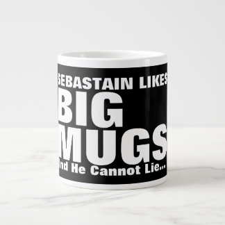 Personalised Fun Likes Big Mugs And I Cannot Lie