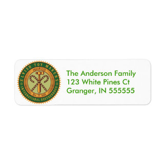Personalised Funny Toy Makers Union Address Labels