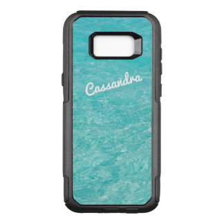 Personalised Galaxy 7 Edge Case | Clear Blue Water