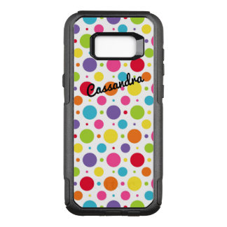 Personalised Galaxy 7 Edge Case | Colourful Dots