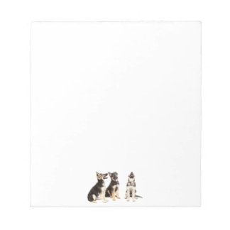 Personalised German Shepherd Puppies Notepad