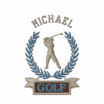 Personalised Golf Banner Logo Custom Embroidered Shirts