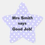 Personalised Good Job Teacher stickers