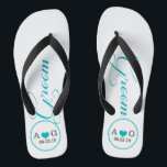 6cb1ccefa53874 Personalised Groom (blue) Thongs br  div ...