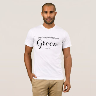 Personalised Groom T-shirt from Bridal Set