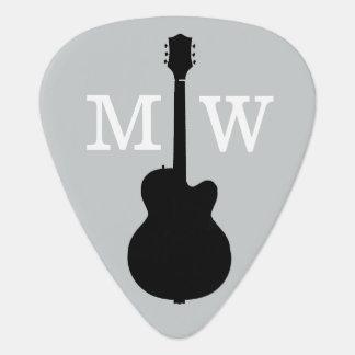 personalised guitar picks for the guitarist pick