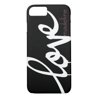 Personalised Handwritten Script Love iPhone 8/7 Case
