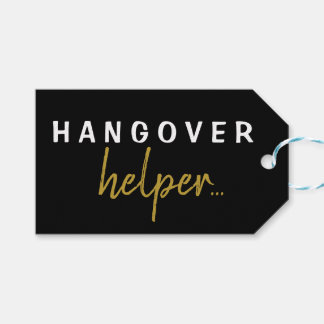 Personalised Hangover Helper Bachelorette Gift Tag